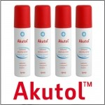 Bình xịt trị vết thương Akutol Spray