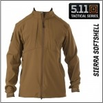 Áo 5.11 Sierra Softshell Brown
